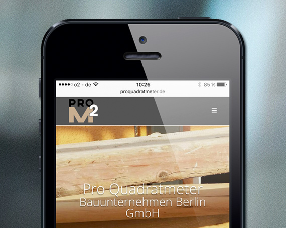 Pro Quadratmeter Bauunternehmen Berlin GmbH